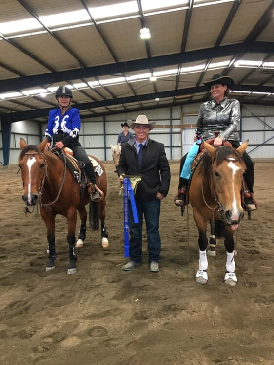 Sponsors of NZ Reining Horse Association